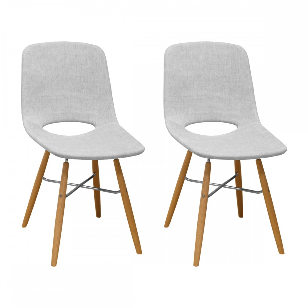 Morza Armless Dining Chair (Set Of 2)