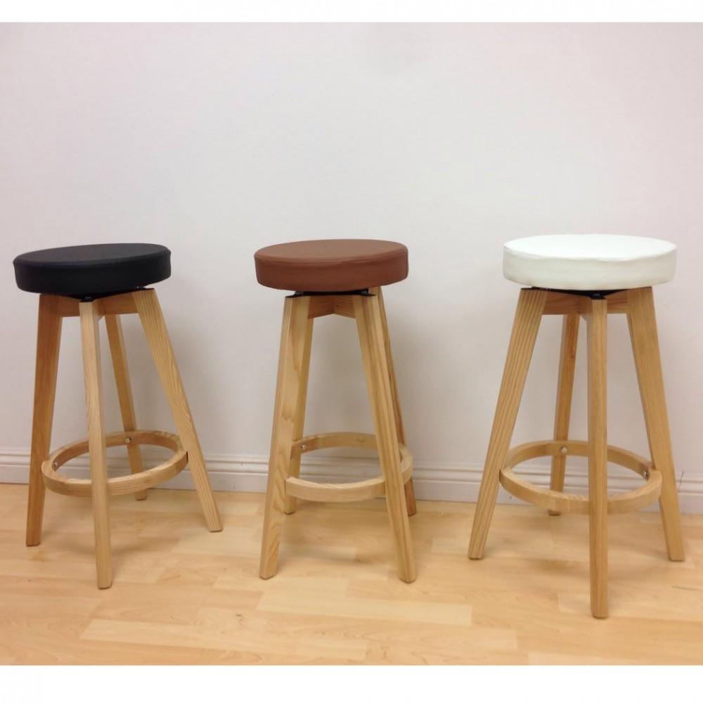 Rex wood counter stool