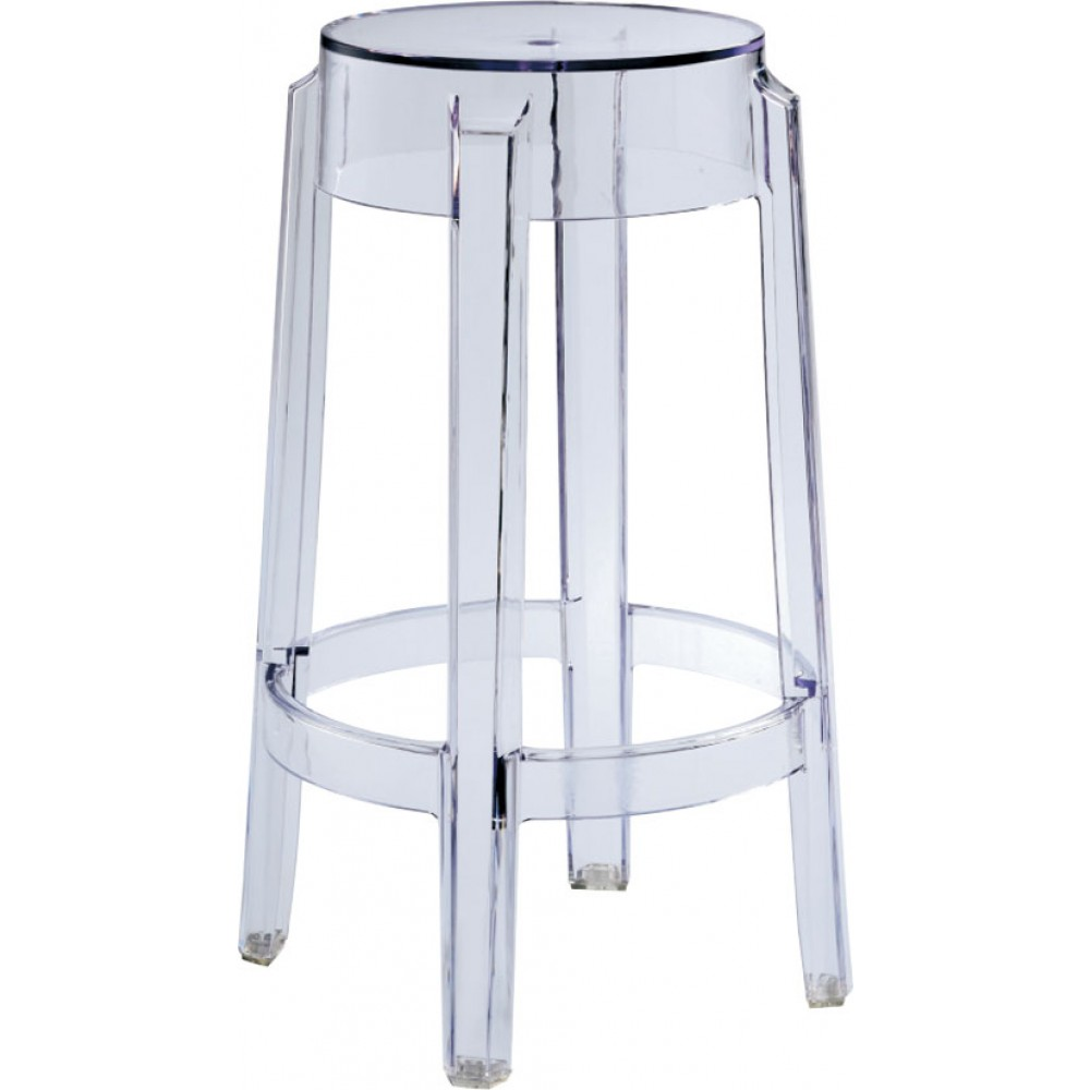 dsw charles khazana counter acrylic s htm eames stools style stool eddt smoke p in the smk