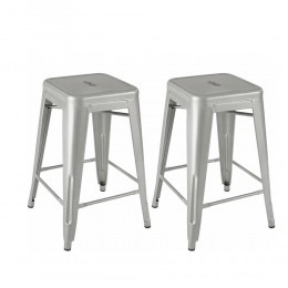 Industrial Counter Stool 2-Pack
