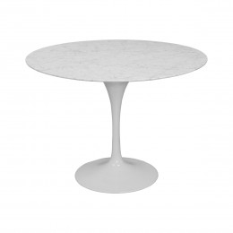 Lily Marble Round Table 39""