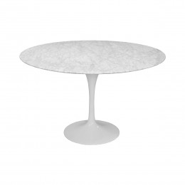 Lily Marble Round Table 47""