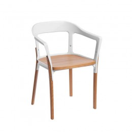 Jasper Steel Wood Chair